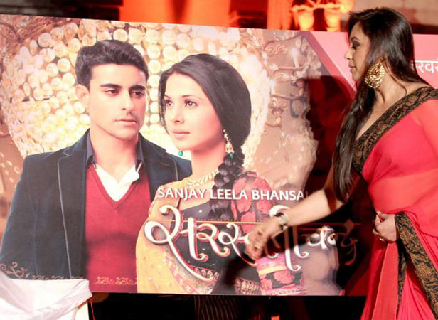 Rani Mukerji launching Saraswatichandra
