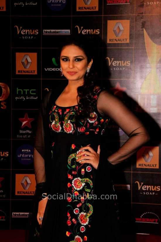 Huma Qureshi at the '8th Renault Star Guild Awards 2013' 03