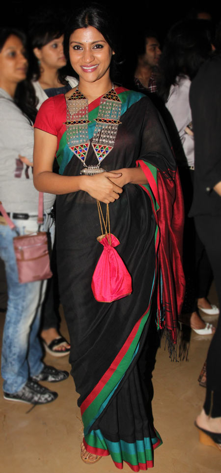 Konkona Sen Sharma at Midnight's Children Premiere