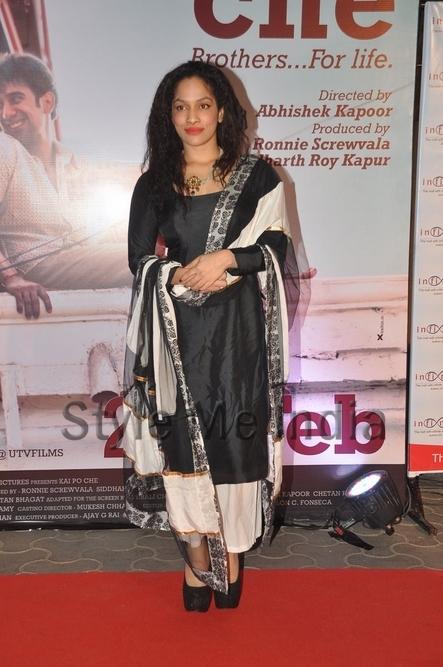 Masaba Gupta at Kai Po Che premiere