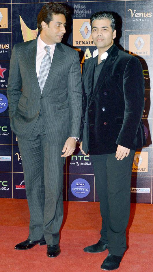 Abhishek Bachhan & KJo