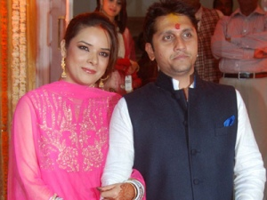 Udita & Mohit post wedding