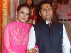 Udita & Mohit post wedding