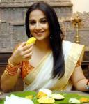 Vidya Balan in a Settu sari