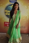 Shilpa looking vibrant in a green anarkali