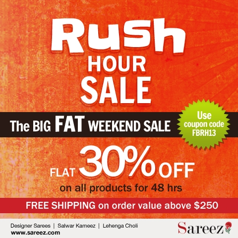 Sareez Rush Hour Sale