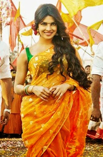 1297-priyanka-chopra-orange-saree-in-gunday