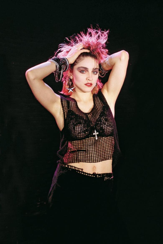 Madonna wore crop top