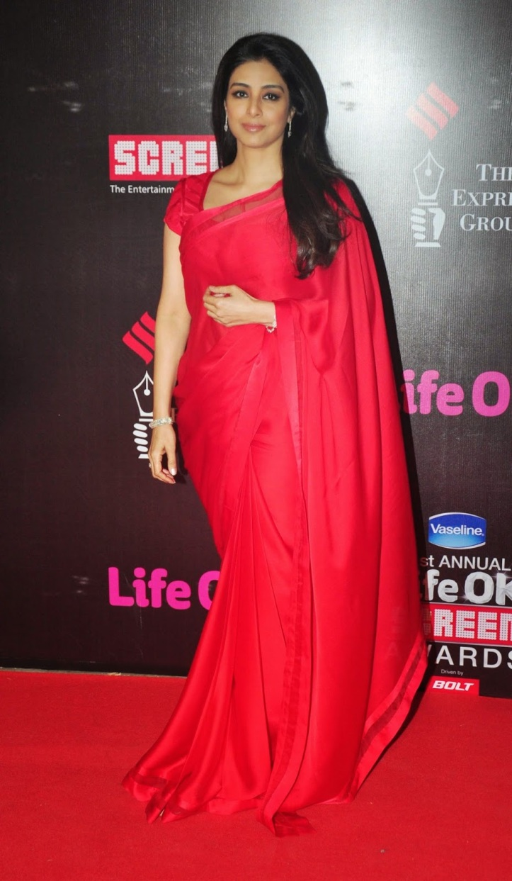 Tabu in Life Ok Screen Awards 2015