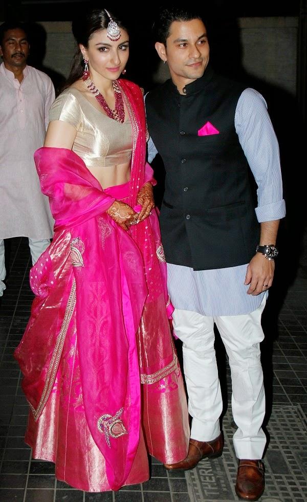 Wedding Ceremony of Soha Ali Khan & Kunal Kemu (2)