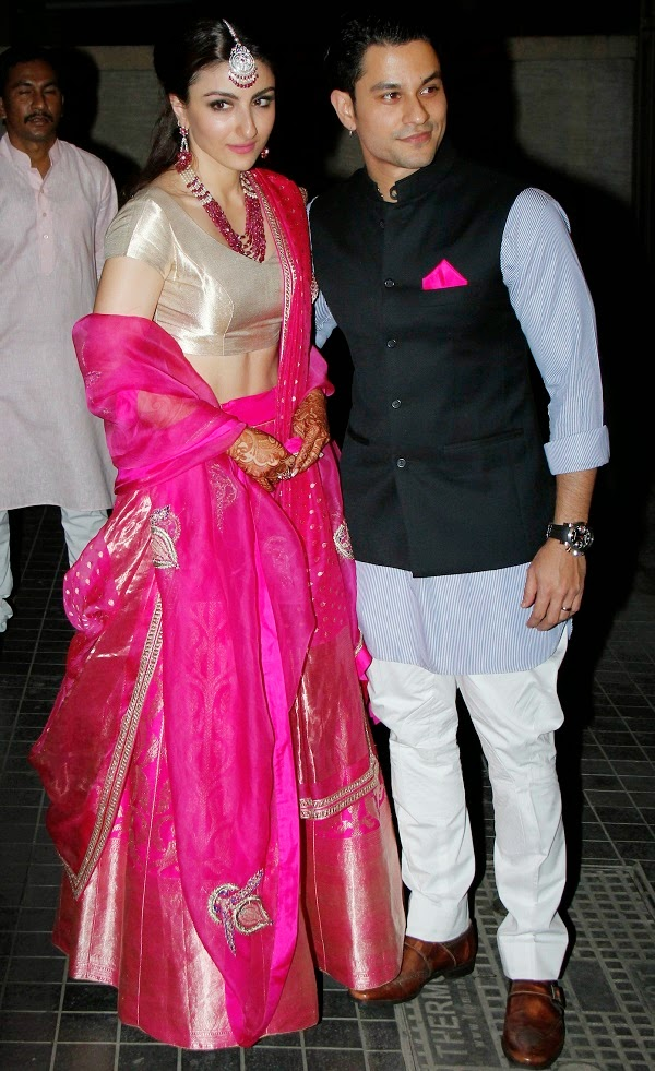 Wedding Ceremony of Soha Ali Khan & Kunal Kemu (2)