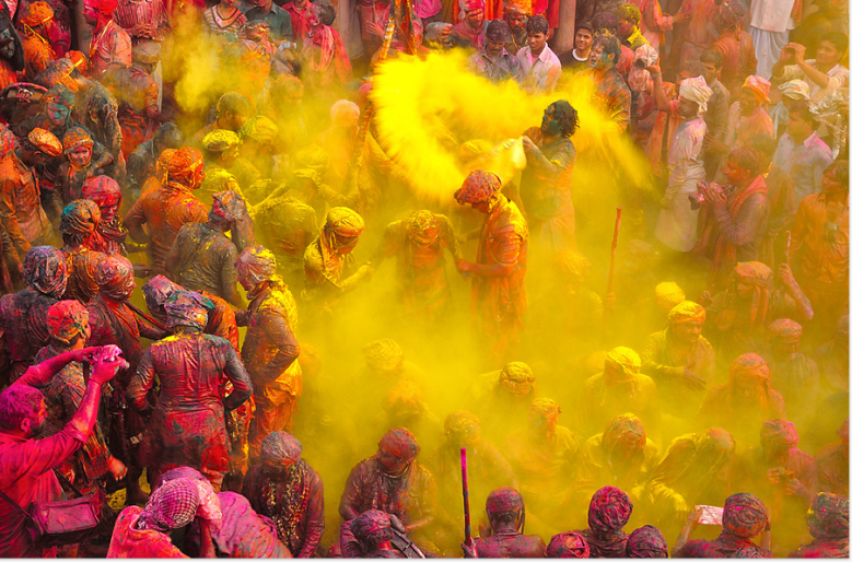 yellow-holi
