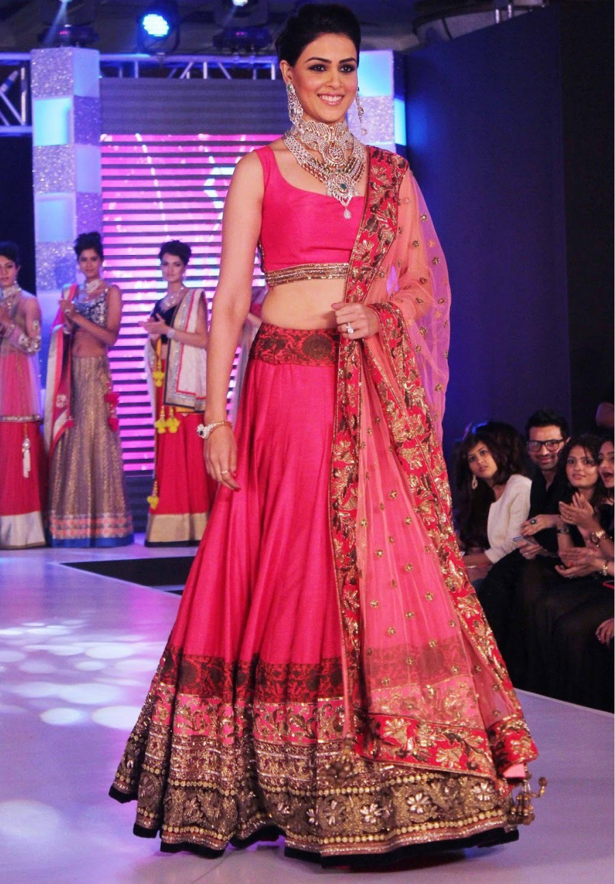 73 Best Celebrity Lehengas images in 2019 | Indian clothes ...