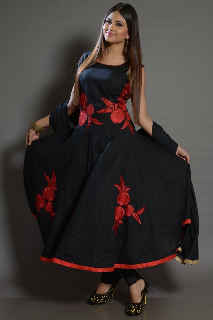 anarkali gown