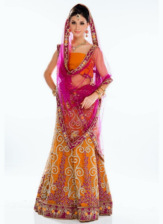 Indian-designer-bridal-lehenga-collection-2013-By-CBAZAR-10
