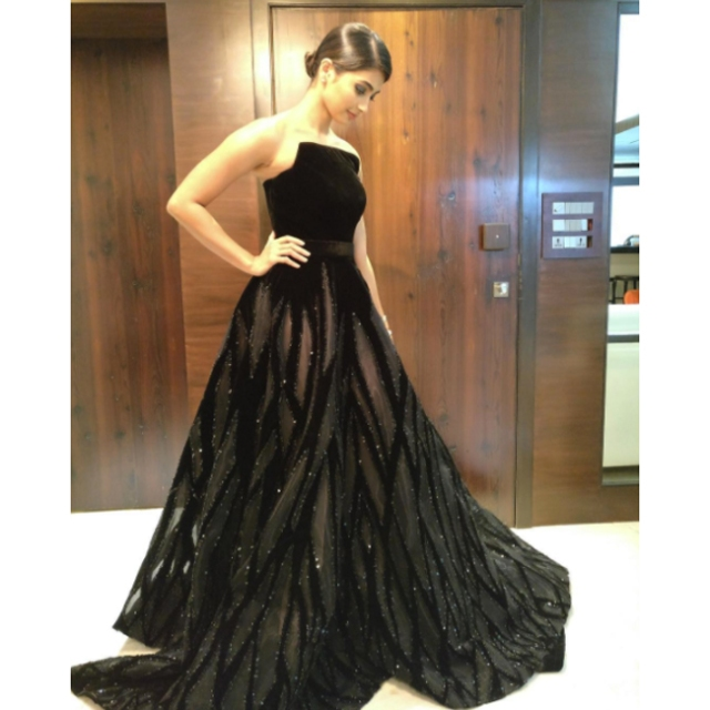 Pooja Hegde in Ali Younes Couture