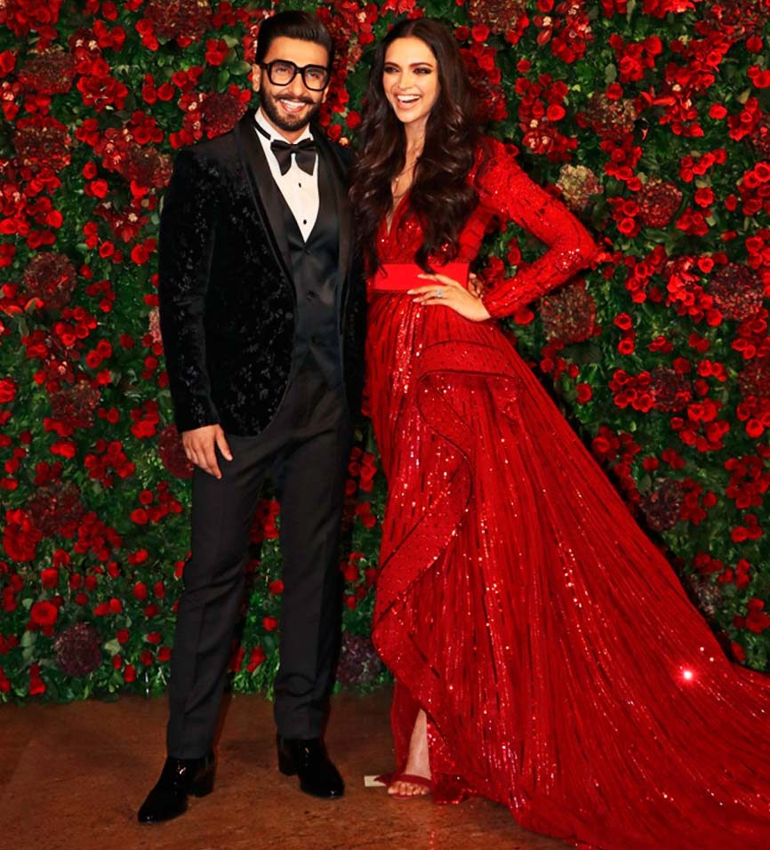 Ranveer and Deepika's, Red & Black Match