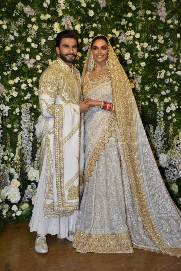 Mumbai Reception, Ranveer in the Sherwani