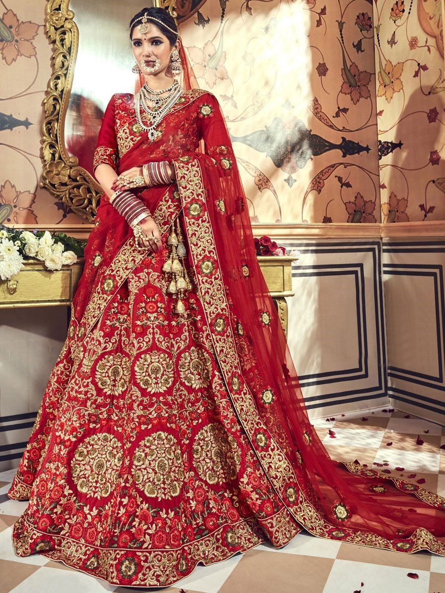 Punjabi bride- Heavy lehenga