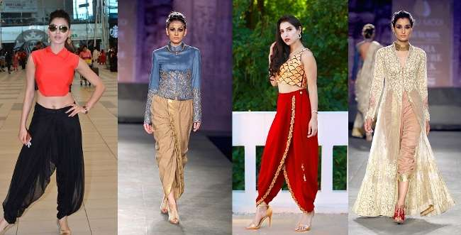 5 Amazing outfit ideas to look stylish in dhotipants