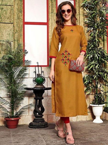 Simple Long Kurtis and Dresses