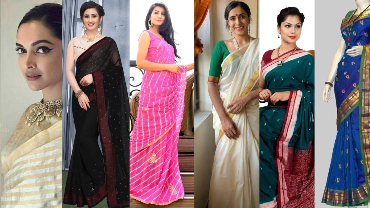 Try Out These 14 Gorgeous Traditional Sarees of DifferentStates